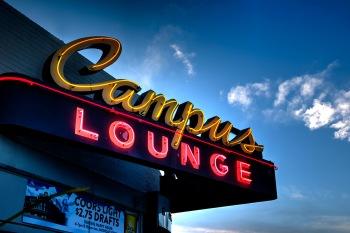 Campus Lounge - Neon Sign - Denver CO