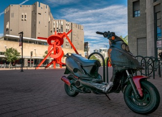 DAM Scooter - Scooter at Denver Art Museum