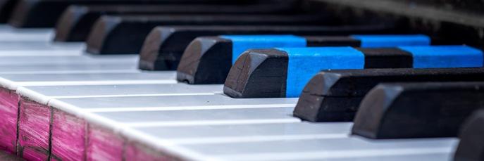 Keys - Piano - 16th St Mall Denver
