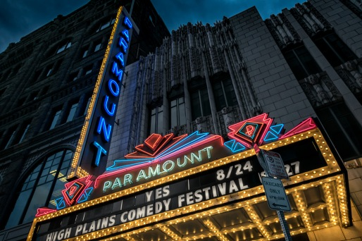 Neon Deco - Paramount Theatre, Denver