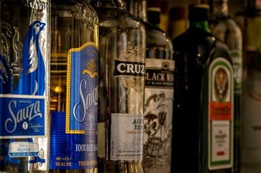 Sauza - Liquor Shelf