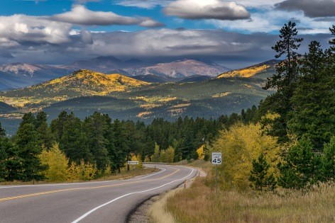 Speed Limit 45 - Gilpin County CO