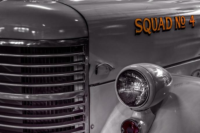 Squad 4 - -Classic Denver Fire Department Engine