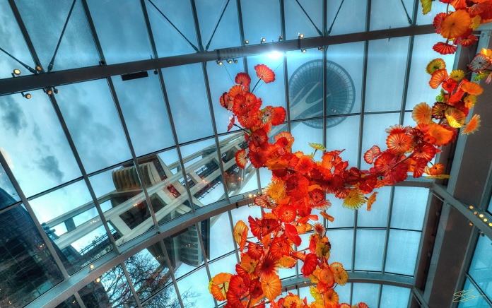 Temple of Glass - Chihuly, Seattle