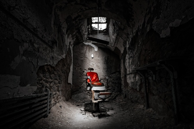 Shave and a Haircut: Eastern State Penitentiary, Philadelphia