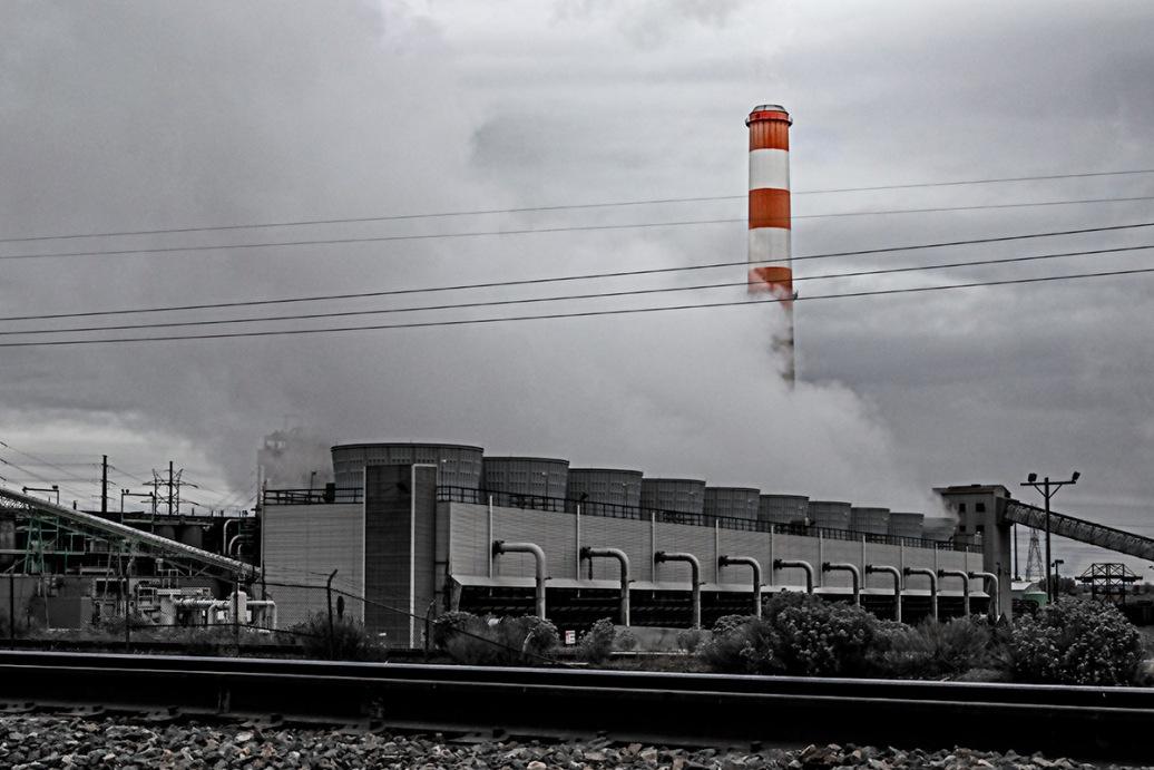 Energy: Denver CO smokestack