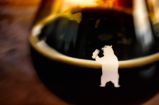 Bear with a Beer - 105 West Brewing Company