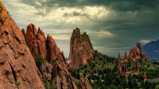 Cathedral Valley - Garden of the Gods, Colorado